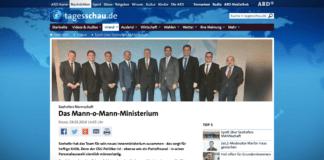 Seehofer představil své ministerstvo: nežijí v Německu žádné ženy?