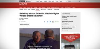 Vladimír Uglev: pomáhal jsem stvořit Novičok
