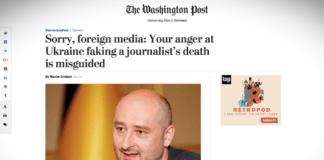 Maxim Eristavi: vyčítat Ukrajině, že fingovala smrt novináře, je hloupost