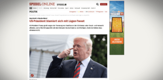 Trump se ztrapnil lživým tweetem