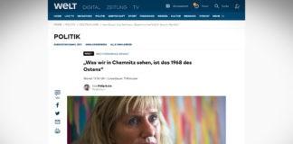 """Spisovatelka Ines Geipel: """"Chemnitz je rok '68 východu"""""""