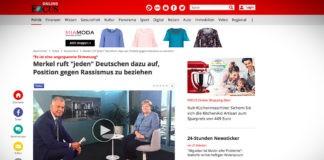 """Mekrelová vyzývá """"každého"""" Němce, aby se vymezil proti rasismu"""