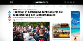 Smrt v Köthenu: jak se mobilizují radikálové?