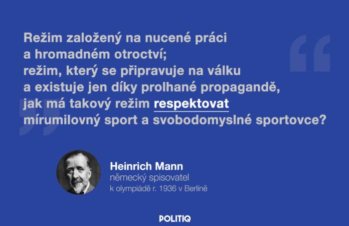 Citát POLITIQ: Heinrich Mann