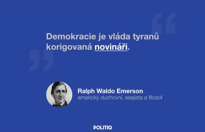 Citát POLITIQ: Ralph Waldo Emmerson
