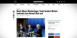 Tusk nepřímo vyzval Británii k exitu z brexitu