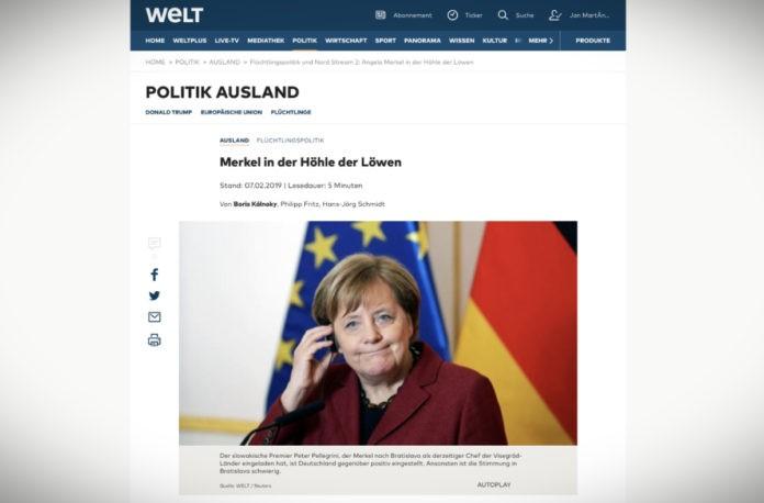 Návštěva v Bratislavě: Merkelová v jámě lvové
