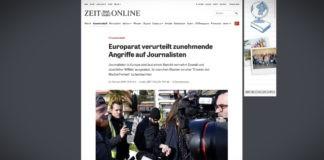 Rada Evropy odsoudila přibývající útoky na novináře