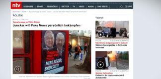 Juncker oznámil zvýšené úsilí v boji proti fake news před evropskými volbami
