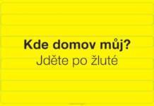 Grafická glosa Lumíra Kajnara: Jděte po žluté