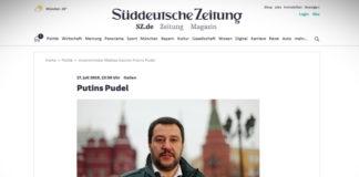 Matteo Salvini - Putinův pudlík