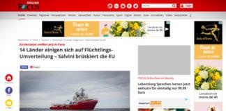 14 zemí se dohodlo na přerozdělování uprchlíků, Salvini peskuje EU