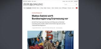 """Matteo Salvini obvinil německou vládu z """"vydírání"""""""