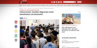 Dopouští se migranti více násilných trestných činů než Němci?