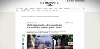 Vražda v Berlíně: americké tajné služby odhalily identitu vraha