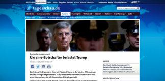 Bývalý velvyslanec v Ukrajině vznesl závažná obvinění proti Trumpovi