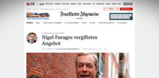 Otrávená nabídka Nigela Farage