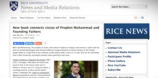 Nová kniha hledá paralely mezi vizemi Proroka Mohameda a Otci zakladateli