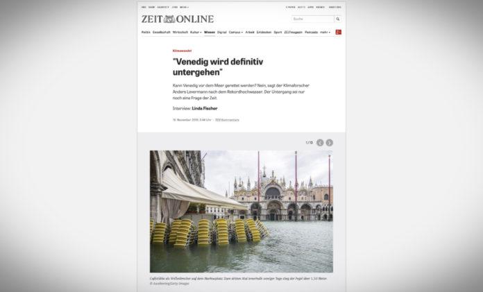 Benátky definitivně skončí pod vodou