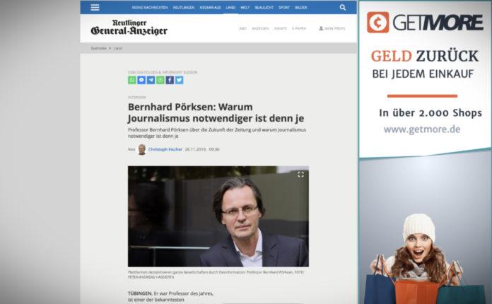 """Bernhard Pörksen: """"Proč je novinařina důležitější než kdy předtím"""""""