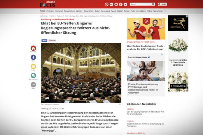 Skandál na jednání EU: mluvčí maďarské vlády tweetoval z neveřejného zasedání