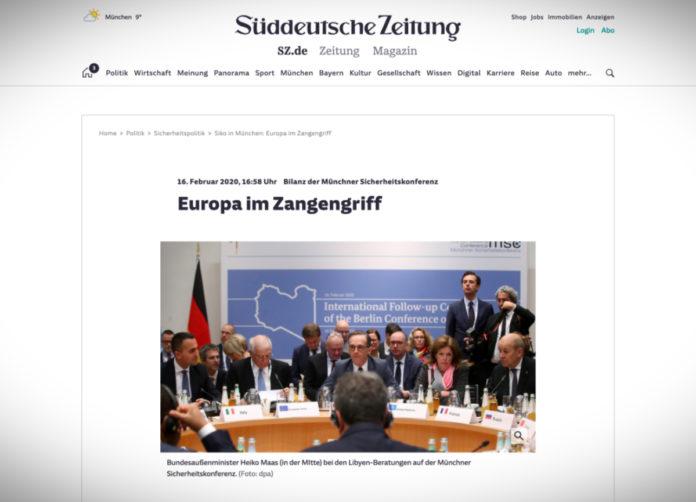 Evropa v kleštích