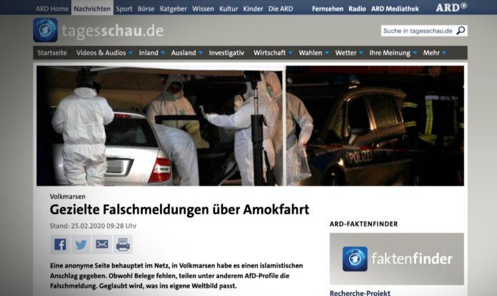 Cílené dezinformace o útocích v Německu
