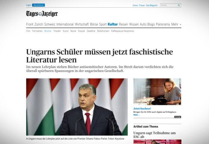 Maďarští žáci musí číst fašistickou literaturu