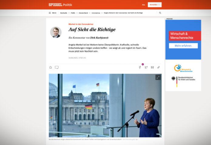 Angela Merkelová v koronakrizi: správný přístup