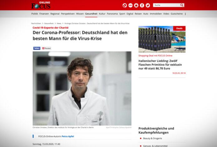 Christian Drosten: nejlepší muž pro boj s koronavirem