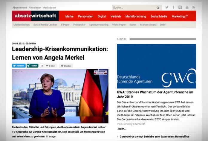 Projev Angely Merkelové jako lekce leadershipu a krizové komunikace