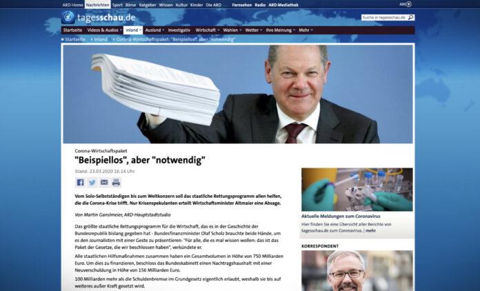 Německá pomoc ekonomice: