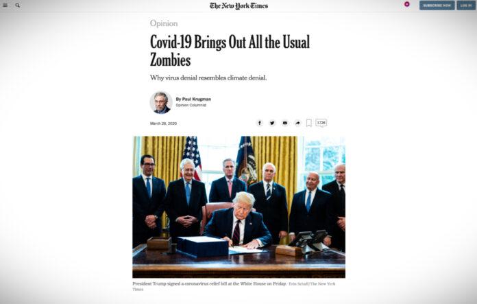COVID-19 vyvolal všechny obvyklé zombie