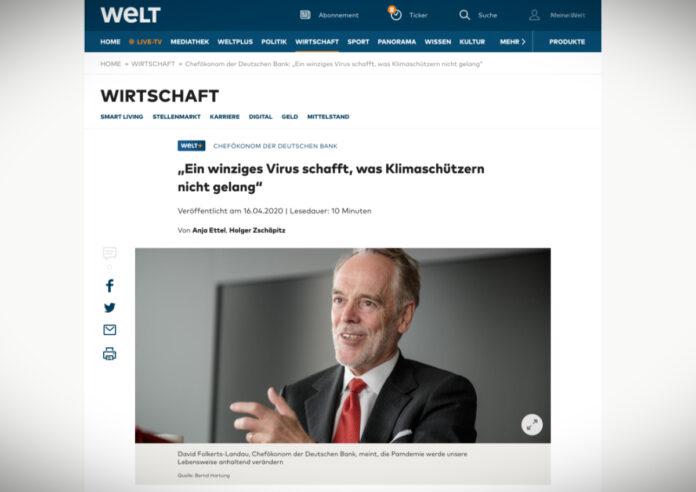 Šéfekonom Deutsche Bank: