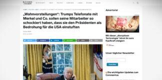 Trumpovo jednání s vrcholnými státníky svědčí o jeho bludných představách